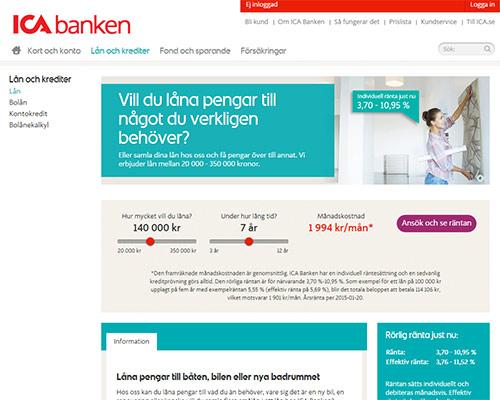 Ica Banken Internetbetalning