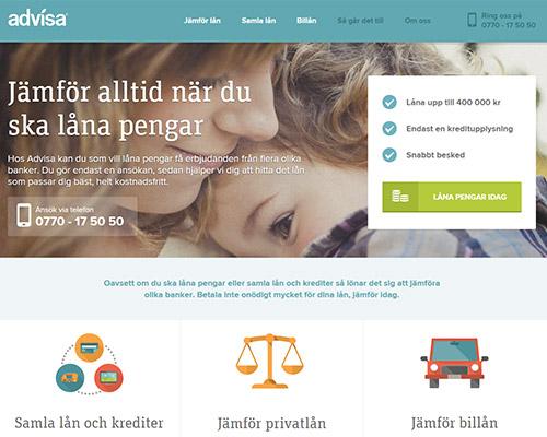 Advisa Privatlån - Jämför