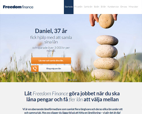 Freedom Finance Privatlån